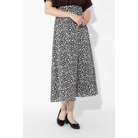 その他スカート - NATURAL BEAUTY BASIC モノトーンフラワープリントスカート