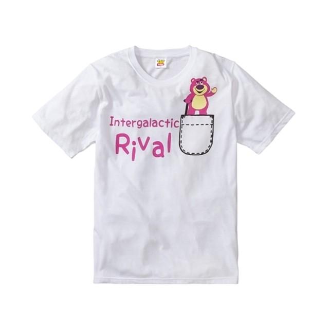 TOY STORY/LOTSO(トイストーリー ロッツォ) ポケットプリント半袖Tシャツ Tシャツ・カットソー