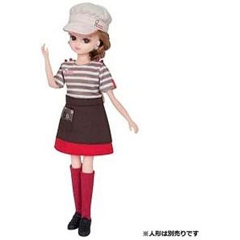 タカラトミー リカちゃん ミスタードーナツ てんいんさん ドレス