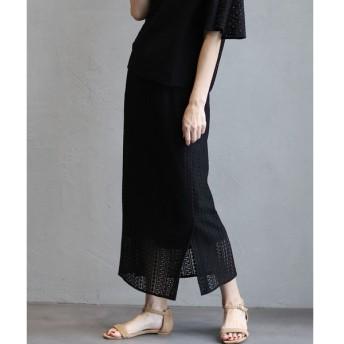 INED / デザインレーススカート