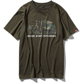 S/S Camouflage Logo Tee THE NORTH FACE (ノースフェイス) NT31932 ND OLV