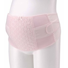 犬印本舗 サポートアップ妊婦帯 LL ピンク ナイロン HB8055