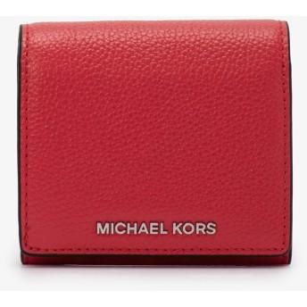MICHAEL MICHAEL KORS レディース コイン フラップ カードホルダー コーラル マイケル・コース