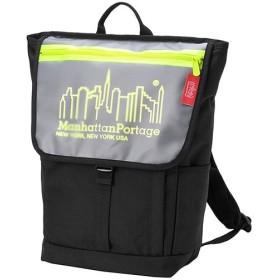 マンハッタンポーテージ(Manhattan Portage) キャリーワシントンSQバックパックJR Carey Washington SQ Backpack JR ブラック/イエロー MP1220JRCAREY