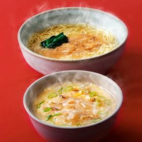 宮城・丸光製麺 ふかひれラーメンとふかひれ雑炊