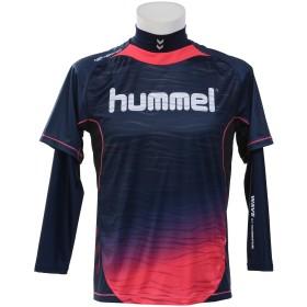 18F HPFC-プラシャツ+インナーセット hummel (ヒュンメル) HAP7109_7024 NVY