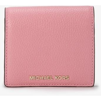 MICHAEL MICHAEL KORS レディース コイン フラップ カードホルダー カーネーション マイケル・コース