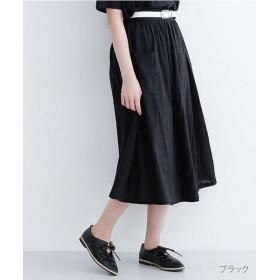【30%OFF】 メルロー ドットドビービックポケットスカート レディース ブラック FREE 【merlot】 【セール開催中】