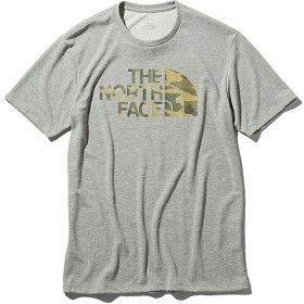 CAMOUFLAGE LOGO TEE THE NORTH FACE (ノースフェイス) NT31976 GRY