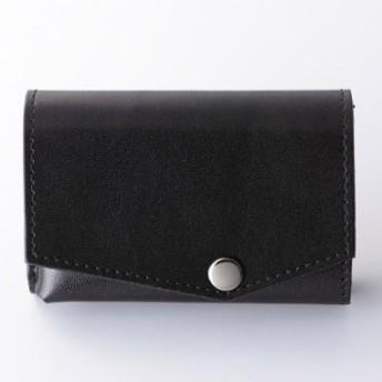 abrAsus アブラサス【高島屋限定】小さい財布 黒×黒 メンズ
