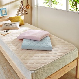 綿100%ソフトパイルの置く楽敷きパッド