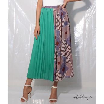 【セール開催中】ANAP(アナップ)ブロッキングプリーツスカート