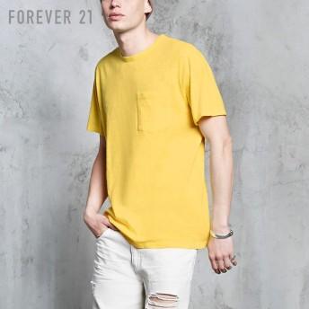 FOREVER21 フォーエバー21 【[MEN]ポケットスラブTシャツ】(5,000円以上購入で送料無料)