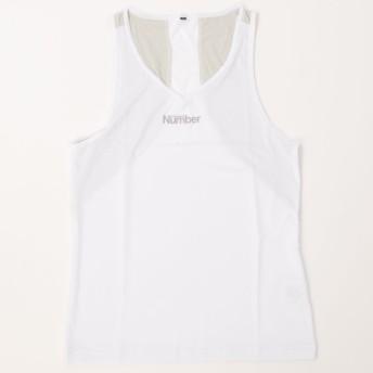 ノースリーブインナーシャツ クール Number (ナンバー) NB-Y16-103-013 WHT