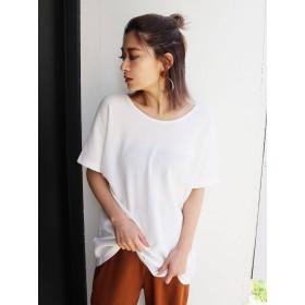 [EMODA]バックカットアウトTシャツ