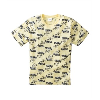 Peko(ペコ) 総柄プリント半袖Tシャツ Tシャツ・カットソー