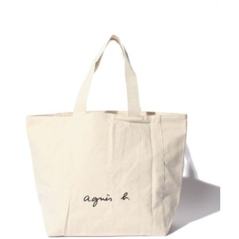 agnes b. Voyage アニエスベーボヤージュ ロゴトートバッグ GO03-01
