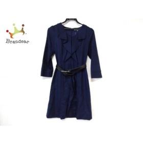 ビアッジョブルー Viaggio Blu ワンピース サイズ1 S レディース 美品 ネイビー ラメ  値下げ 20190914