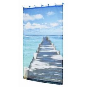 デジタルプリントカーテン シー 105×178cm 14119871119