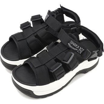 SHAKA シャカ サンダル レディース ネオ ライリー チャンキーソール NEO RALLY CHUNKY 厚底 ストラップ アウトドア 靴 BLACK SK433115 SS19