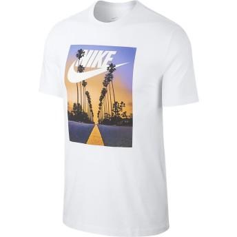ナイキ SUNSET PALM Tシャツ NIKE (ナイキ) BQ0716-100 WHT