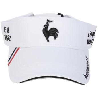 ボウシ le coq GOLF(ルコックゴルフ) QG0263 WHT