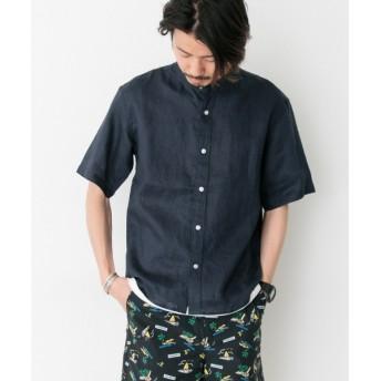 [マルイ]【セール】メンズシャツ(リネン半袖バンドカラーシャツ)/アーバンリサーチ サニーレーベル(メンズ)(URBAN RESEARCH Sonny Label)