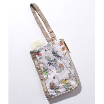 (LeSportsac/レスポートサック)CURVED COIN POUCH ピーターズフルーツガーデン/レディース ピンク系