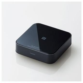 エレコム Bluetoothオーディオレシーバー(ブラック) ELECOM LBT-AVWAR501XBK 返品種別A