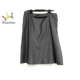 バレンチノ VALENTINO スカート サイズ12 L レディース 美品 ダークグレー 新着 20190611
