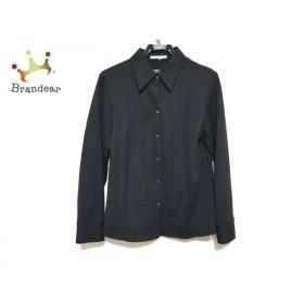 ニジュウサンク 23区 ジャケット サイズ46 XL レディース 美品 黒   スペシャル特価 20190911