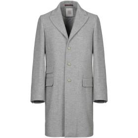 《期間限定 セール開催中》ELEVENTY メンズ コート グレー 48 カシミヤ 100%