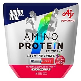 アミノプロテイン カシス味 30本入パウチ aminoVITAL (アミノバイタル) 36JAM82010 BLK