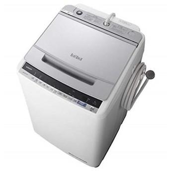 日立 BW-V90E シルバー ビートウォッシュ 全自動洗濯機(9.0kg)