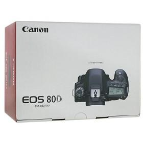 【中古】Canon製 デジタル一眼レフカメラ EOS 80D ボディ 元箱あり
