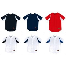 デサント DESCENTE 野球ウェア メンズ ユニフォームシャツ カラーコンビネーション DB43M 2019FW
