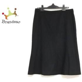 バレンチノローマ VALENTINO ROMA スカート サイズ46/10 レディース 美品 黒 新着 20190611