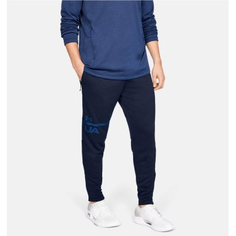 UA MK1 TERRY TAPERED PANT UNDER ARMOUR (アンダーアーマー) 1306447 408 NVY