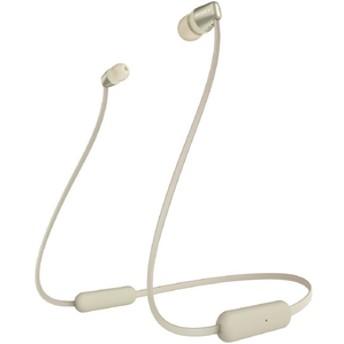 SONYワイヤレスステレオヘッドセットゴールドWI-C310 N