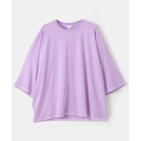 URBS(ユーアールビーエス) トップス Tシャツ・カットソー AECA WHITE SUNSET LOVER OVERSIZE T-SHIRTS【送料無料】