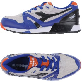 《期間限定 セール開催中》DIADORA メンズ スニーカー&テニスシューズ(ローカット) ブライトブルー 6.5 革 / 紡績繊維