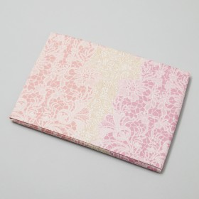 SUYA-LAB スヤラボ 綿100% ピロケース 封筒式 ピンク