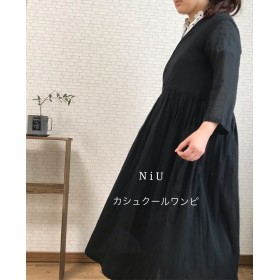 NiU カシュクールワンピース 黒