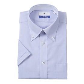 【洋服の青山:トップス】【半袖】【ICE TOUCH】【ボタンダウン】スタンダードワイシャツ