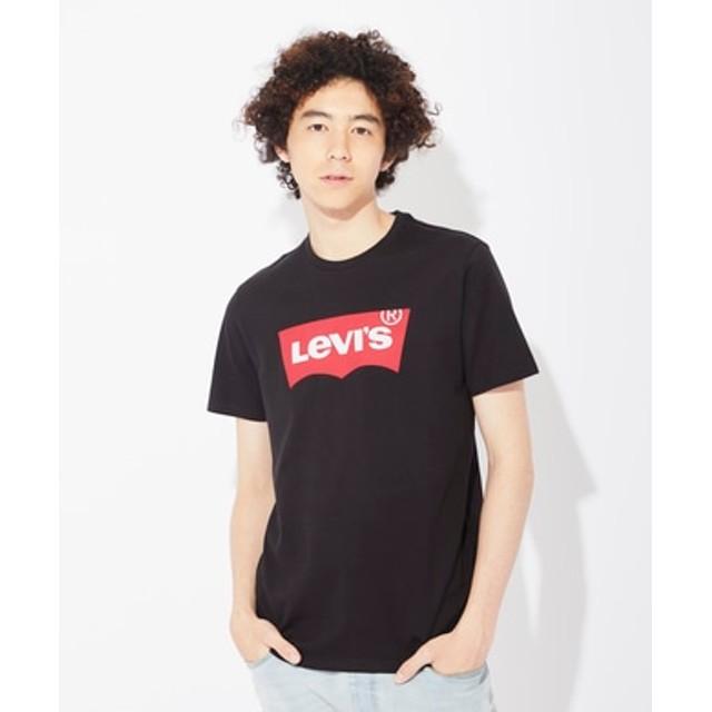 Levi's バットウィングロゴTシャツ メンズ レッド*ブラック