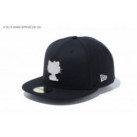 NEW ERA ニューエラ 59FIFTY HELLO KITTY ハローキティ メタルプレート ブラック ベースボールキャップ キャップ 帽子 メンズ レディース 7 1/4 (57.7cm) 12082899 NEWERA