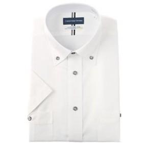 【洋服の青山:トップス】【半袖】【ボタンダウン】【清涼】スタンダードワイシャツ(キング&トール)