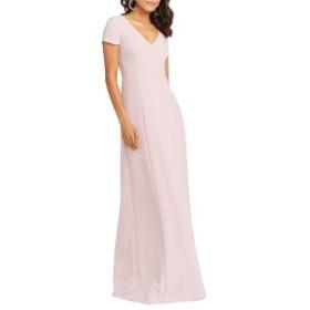 ウミーユアムーム レディース ワンピース トップス Show Me Your Mumu Geneva Gown Vintage Rose Stretch Crepe