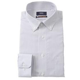 【洋服の青山:トップス】【長袖】【NON IRONMAX】【ボタンダウン】スタイリッシュワイシャツ