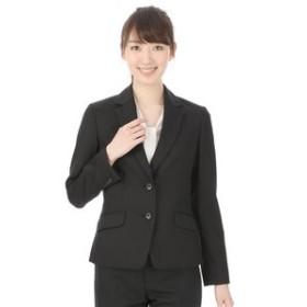【洋服の青山:スーツ・ネクタイ】【セットアップ対応】【無地】ストレッチ2ボタンジャケット(クイーン)